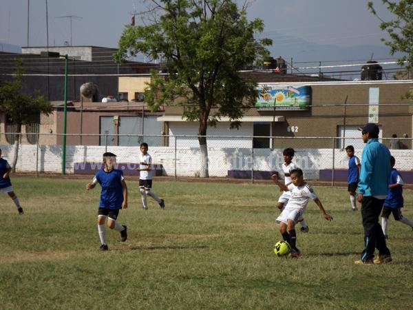 Continúa su preparación la Selección Sub 10 de Futbol Zamora