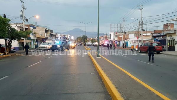 Entre la vida y la muerte motociclista víctima de ataque a balazos en Zamora