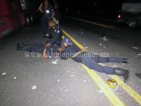 Seis policías heridos tras aparatosa carambola en Zamora
