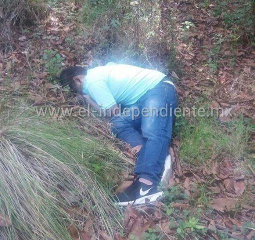 Encuentran a un ejecutado en un predio de la localidad de El Tigre