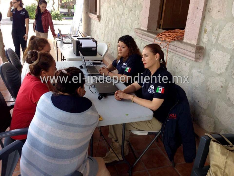 Llega MP Itinerante brindó más de 100 servicios a mujeres víctimas de violencia en Téjaro