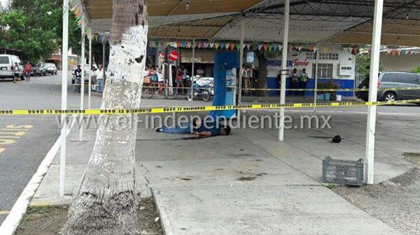 Ultiman a balazos a un ciudadano cerca del Mercado Hidalgo, en LC