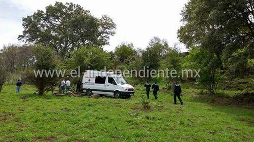 Localizan el cadáver de un hombre en un potrero en el camino hacia La Joyita.