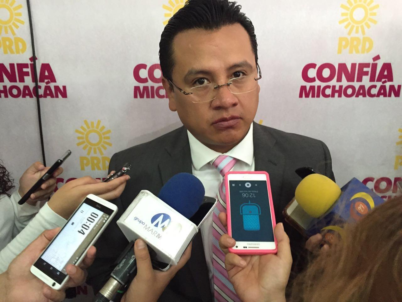 Gobiernos del PRD dan resultados tangibles en beneficio de Michoacán: Torres Piña