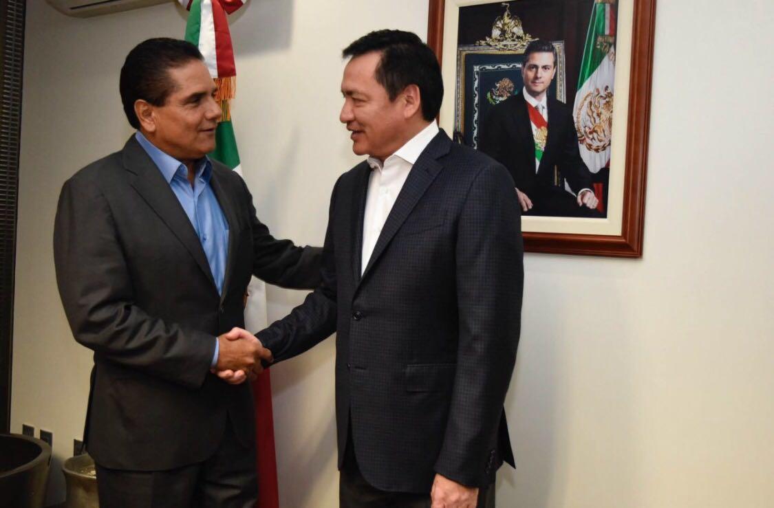 Sostiene Silvano Aureoles reunión con Miguel Ángel Osorio Chong
