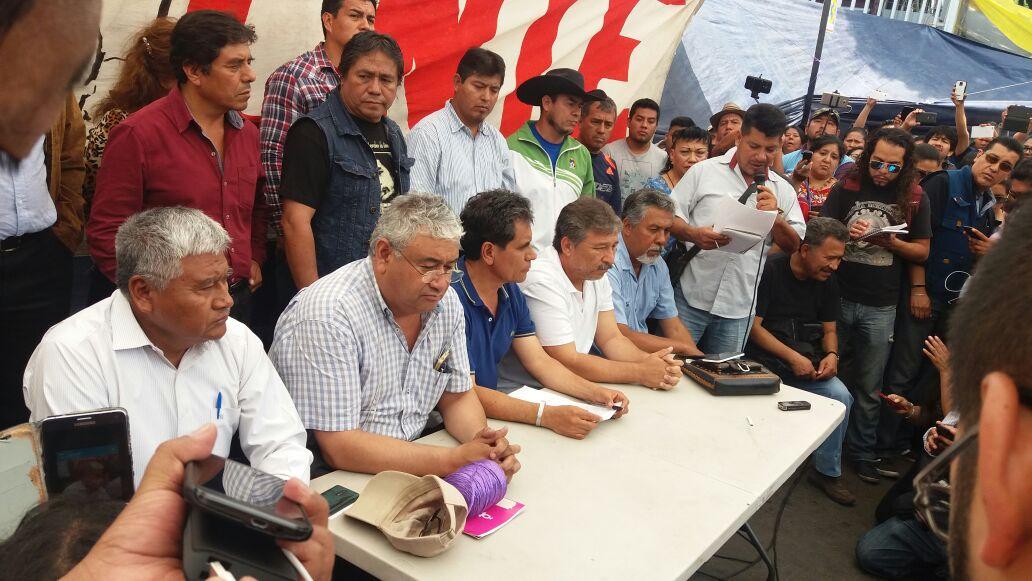 Policía Federal detiene Rubén Núñez líder de la CNTE sección Oaxaca