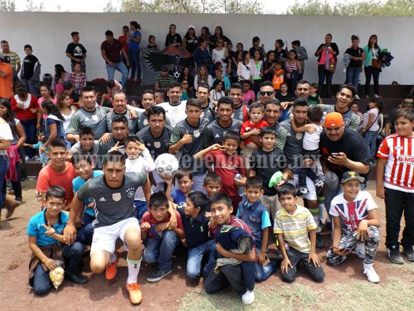 Cuervos de La Sauceda quedó como Campeón en la Liga de Futbol de Ixtlán