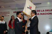 Abandera Gobernador Delegación Michoacana a Olimpiada Nacional 2016