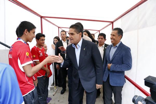 Inauguró Gobernador Campeonato Nacional de Natación Curso Largo Morelia 2016