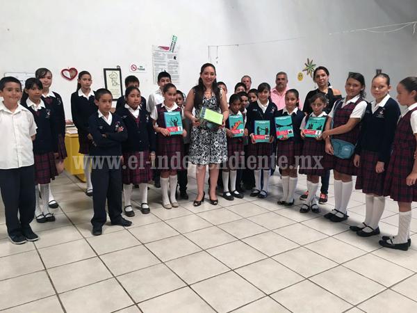 Diputada Noemí Ramírez fortalece educación de la comunidad Aquiles Serdán