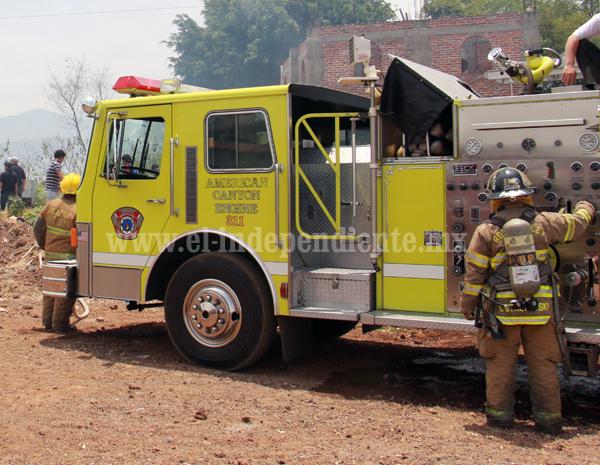 Organización luterana de migrantes donó a Jacona un camión de bomberos