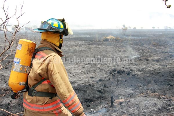 Falta de lluvia incrementó riesgo de incendios forestales