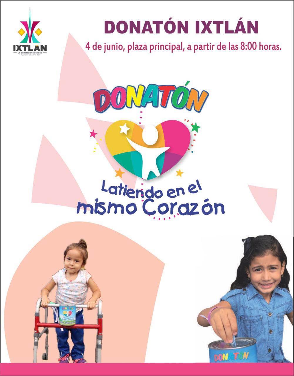 Todo listo para el Donatón Ixtlán 2016