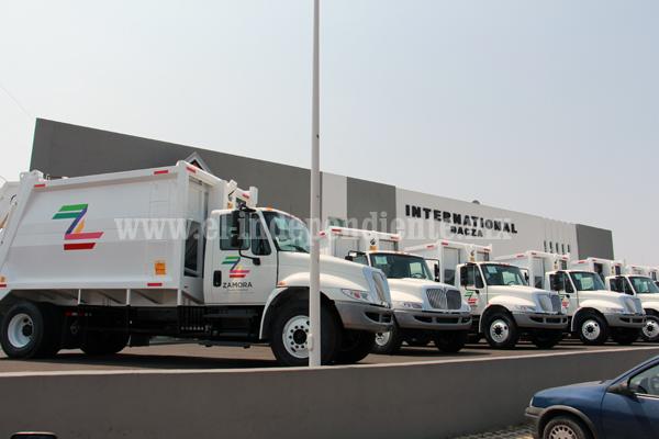 Aseo Público Municipal contará con vehículos nuevos