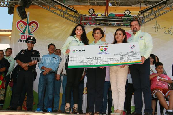 Donatón recaudó casi  400 mil pesos; superaron la meta