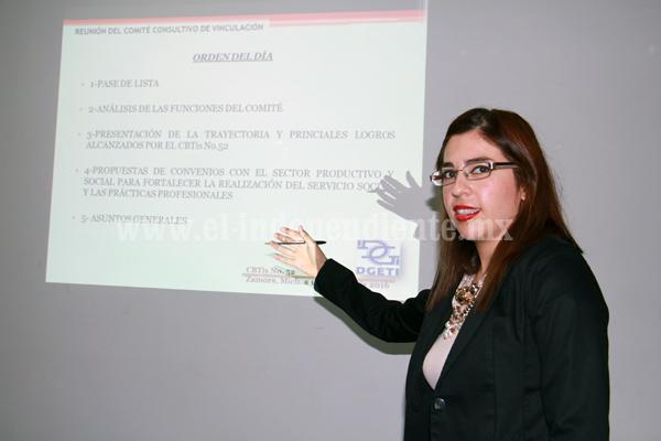 CBTIS  52 busca  fortalecer su vinculación con el sector empresarial