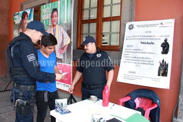 Buscan llegar a 400 elementos en Dirección de Policía y Tránsito
