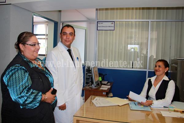 Ulises Arias Juárez asume cargo como subdirector del Hospital Regional