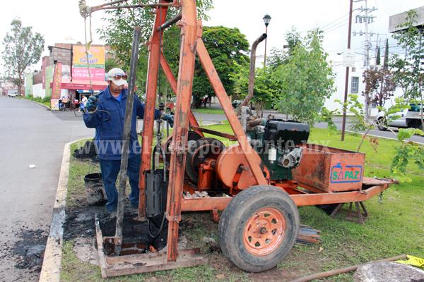 SAPAZ intensificó esfuerzos para limpiar bocatormentas y alcantarillas