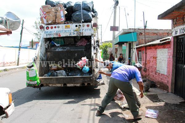 Resuelven problema de recolección de basura con instrumentación de rutas