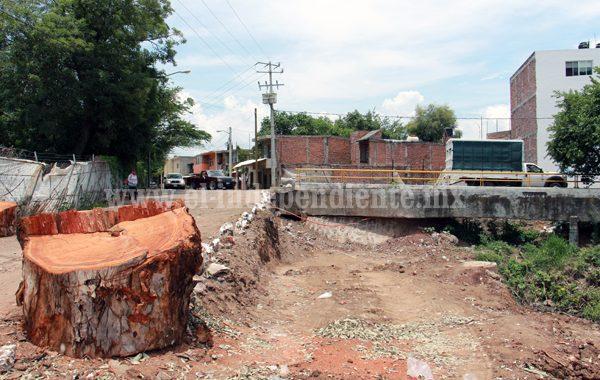 Arrancan construcción de glorieta en Circuito Vial Galeana
