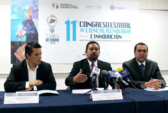 Convoca Sicdet al Congreso Estatal de Ciencia, Tecnología e Innovación y al Quinto Encuentro de Jóvenes Investigadores