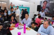 Fortalecen Gobernador y Sedesol acciones en favor de las y los michoacanos