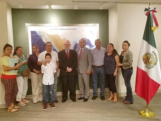 Semigrante brinda atención a michoacanos radicados en Atlanta, Georgia