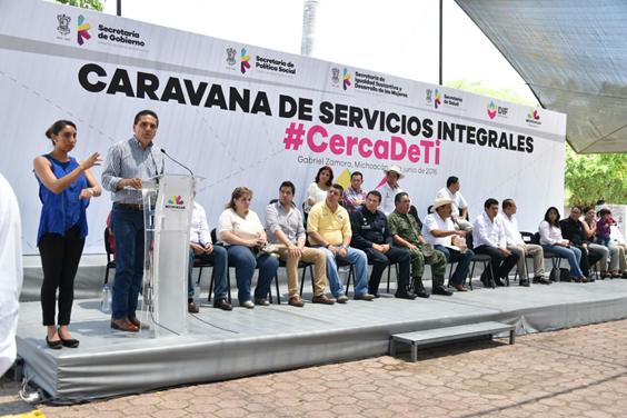 Regresará la paz y estabilidad a Gabriel Zamora, asegura Gobernador