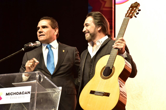 Silvano Aureoles y Marco Antonio Solís presentan a nivel nacional campaña