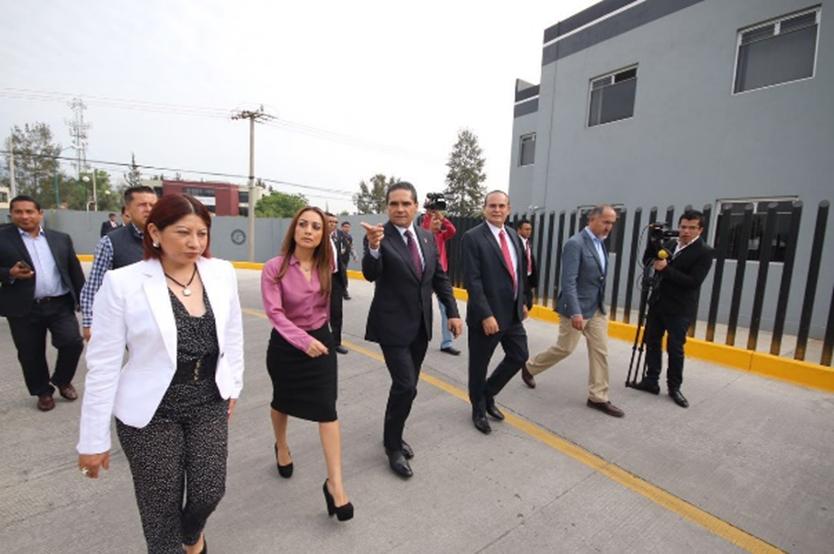 Inaugura Silvano Aureoles obras en materia de procuración de justicia