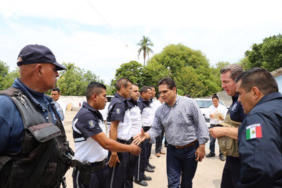 Hay resultados positivos en Cenobio Moreno, municipio de Apatzingán: Silvano Aureoles
