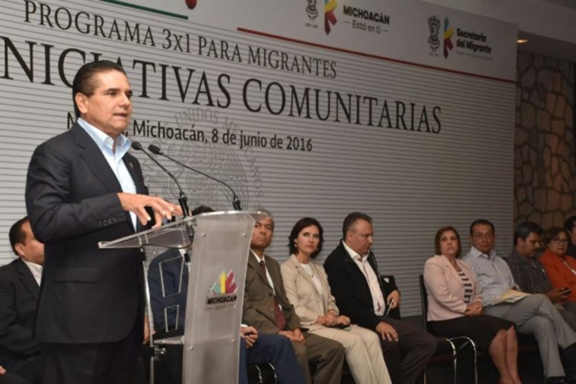 Propone Gobernador que Programa 3x1 mejore indicadores de pobreza