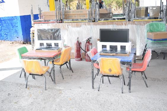 Se han invertido 226 mdp para abatir el rezago en materia de infraestructura educativa