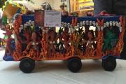 Premian a ganadores del concurso artesanal de San Pedro Ocumicho
