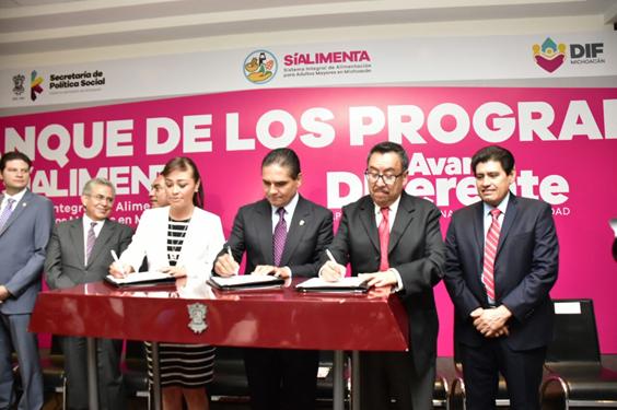 Arranca gobernador acciones para reducir desigualdad en Michoacán