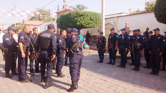 Refuerza SSPestrategia de seguridad en la región Zamora