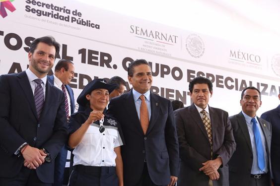 Michoacán, primer estado con Grupo Especializado en Protección al Medio Ambiente