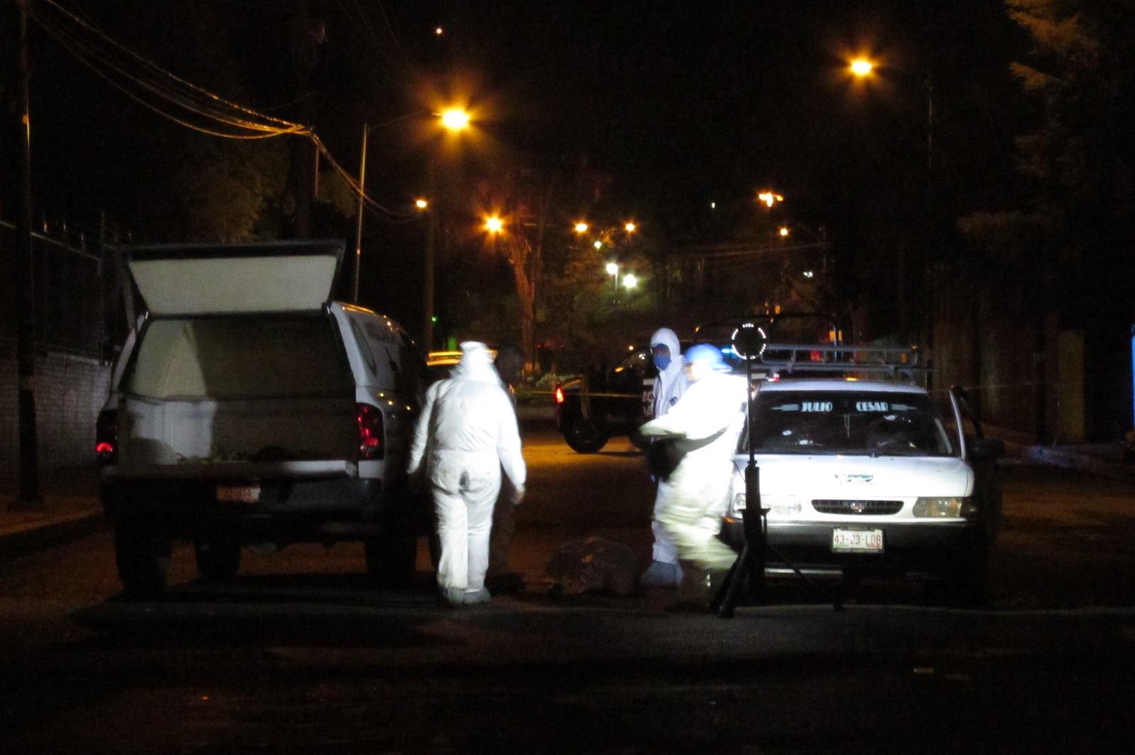 """Identifican al muerto dentro de un taxi en las inmediaciones del Zoológico """"Benito Juárez"""""""