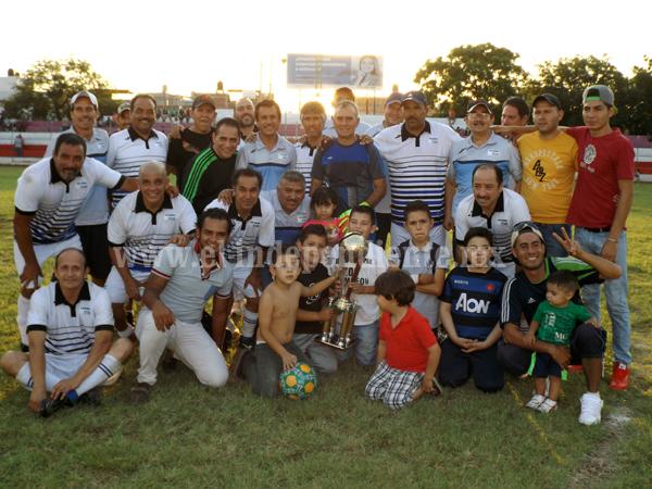 Inter Olimpia se lleva el Campeón de Campeones en Master Uno