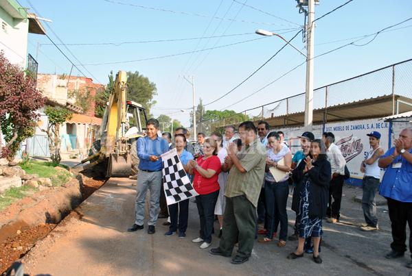 Mejoran calidad del servicio del agua potable y alcantarillado en Jacona