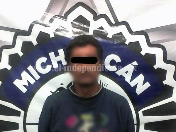 Policía Michoacán detiene a cuatro sujetos en la región Zamora por distintos delitos