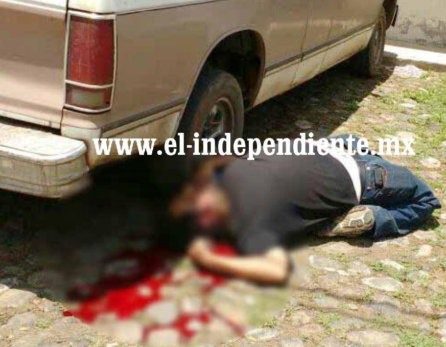 Empistolados dan muerte a un hombre en la colonia El Valle de Zamora