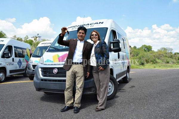 Jacona municipio beneficiado con unidad para  personas con discapacidad