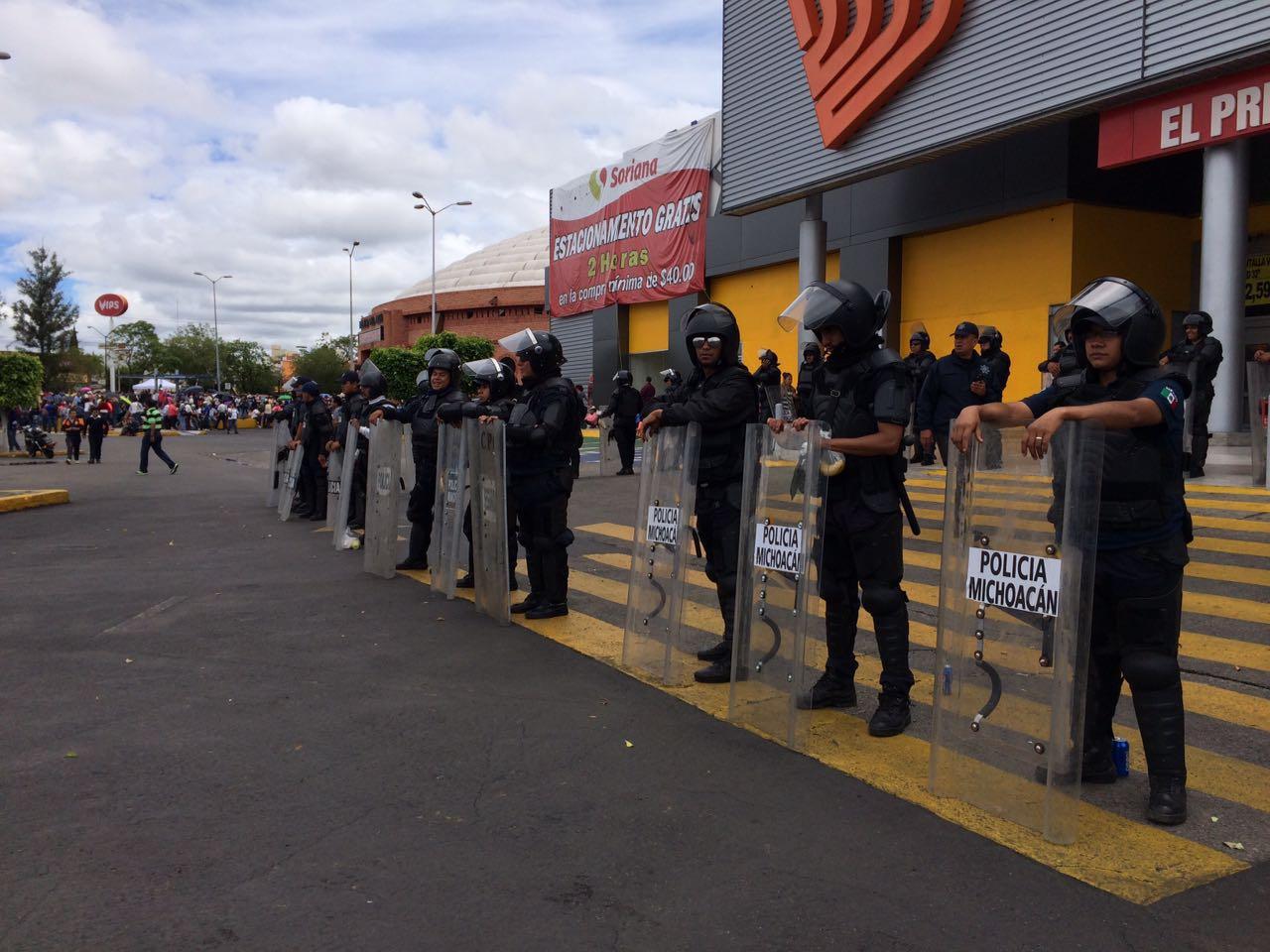 Garantiza SSP seguridad y libre vialidad ante manifestaciones de la CNTE