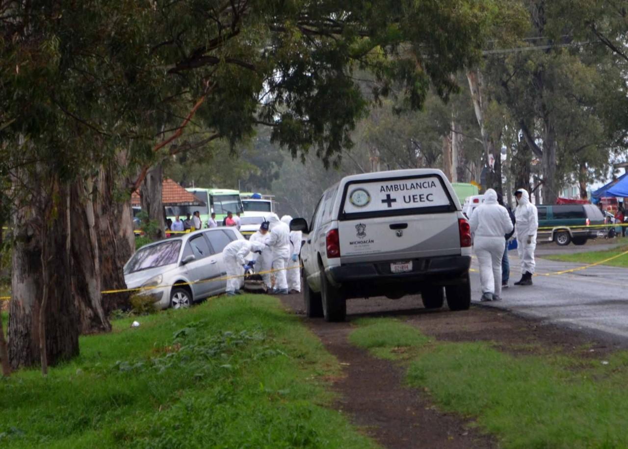 Ultiman a balazos a la conductora de una camioneta, en la carretera a Mil Cumbres