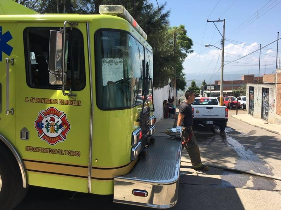 Se registra incendio en casa de la colonia Guadalupe Victoria