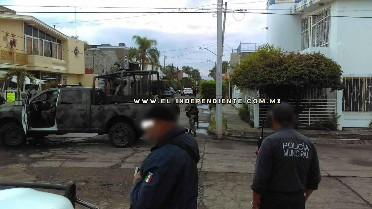 Con armas largas ultiman a sahuayense en el Fraccionamiento Las Brisas