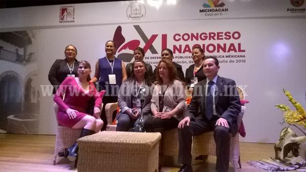 Desde Michoacán se fortalece la defensoría pública del país