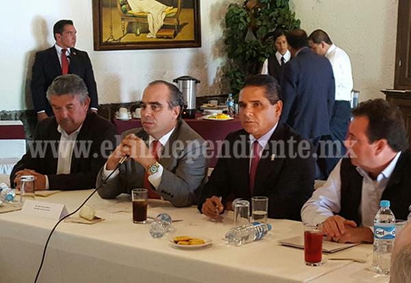 Reitera Gobernador compromiso con el sector empresarial para el desarrollo del estado